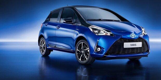 Zweites Facelift für den Toyota Yaris