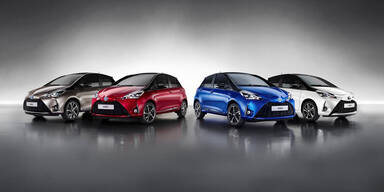 """Jetzt startet der """"neue"""" Toyota Yaris"""