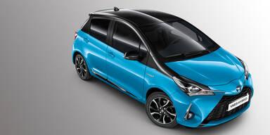 """Toyota Yaris Hybrid als """"Cyan Edition"""""""
