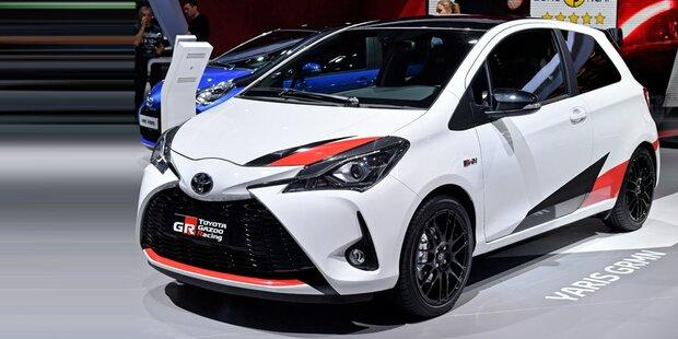 Toyota lässt Yaris mit 212 PS von der Leine