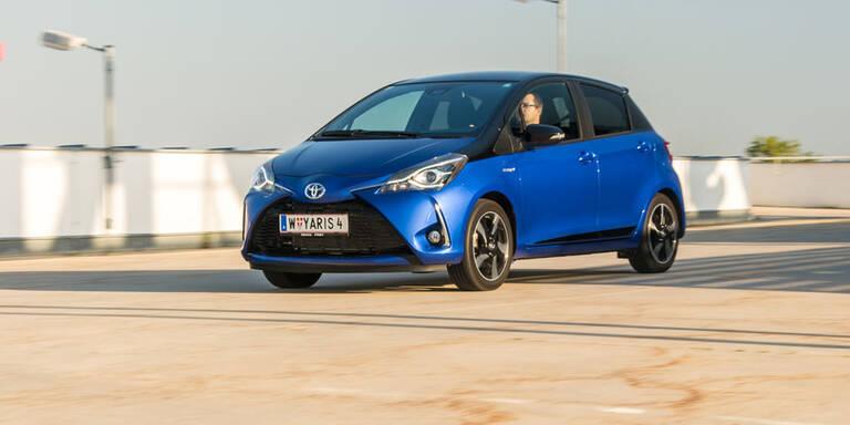 Neuer Toyota Yaris Hybrid im Test