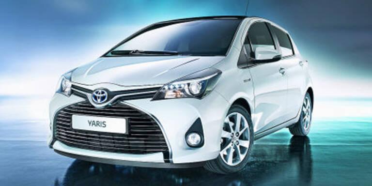 Toyota frischt den Yaris auf