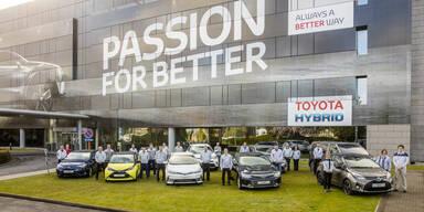 10-millionster Toyota aus Europa