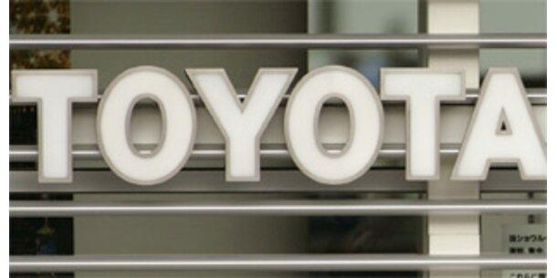 Toyota senkt Jahresprognose