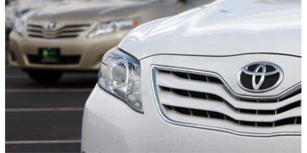 Toyota tauscht 3,8 Mio. Gaspedale aus