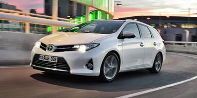 Alle Infos vom Toyota Auris Kombi (Hybrid)