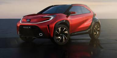 Toyota macht den neuen Aygo zum Crossover