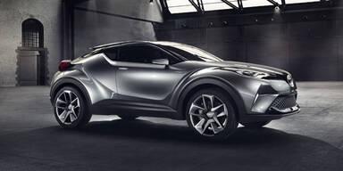 Toyota bringt kompaktes Hybrid-SUV