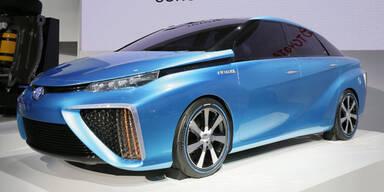Brennstoffzellen-Autos werden leistbar