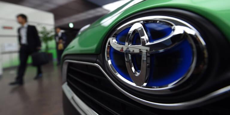 Toyota ruft erneut 1,6 Mio. Autos zurück