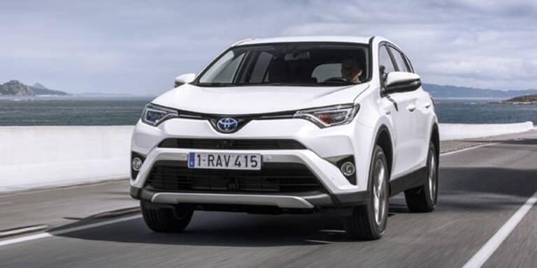 Jetzt startet der Toyota RAV4 Hybrid