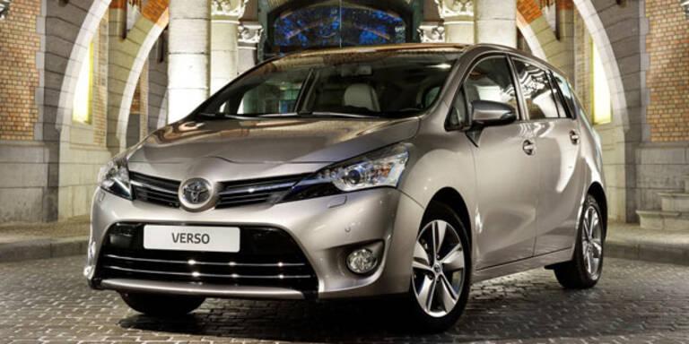 Toyota Verso mit BMW-Diesel startet