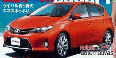 Fotos vom neuen Toyota Auris aufgetaucht