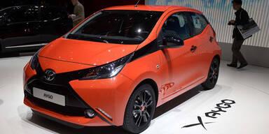 Weltpremiere des neuen Toyota Aygo