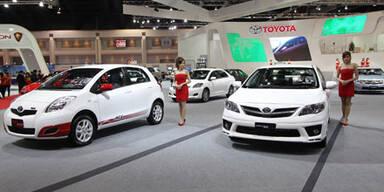 Toyota stoppt Produktion in fünf Werken