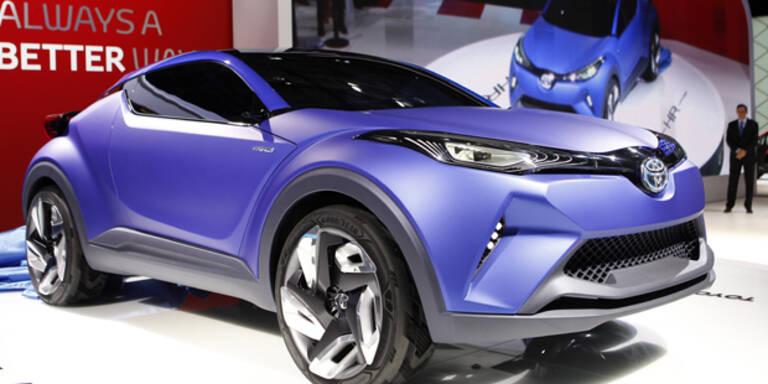 Toyota präsentiert den C-HR