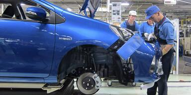 Toyota baute 2013 über 10 Millionen Autos