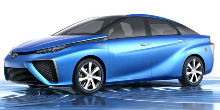 Toyota greift mit Brennstoffzellen-Auto an