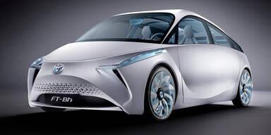 Toyotas FT-Bh zeigt Weg in die Zukunft