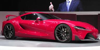 Atemberaubende Toyota-Studie FT-1