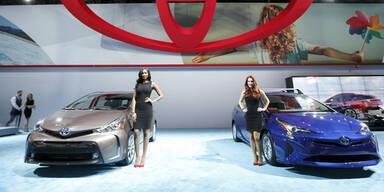 Toyota erneut größter Autobauer der Welt