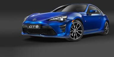 Toyota verpasst dem GT86 ein Facelift