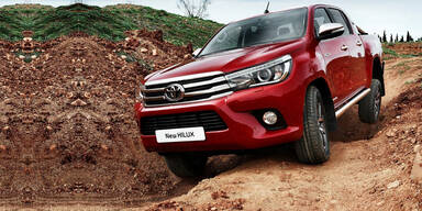 Toyota greift mit völlig neuem Hilux an