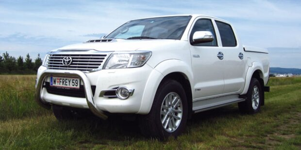 Der neue Toyota Hilux 3.0 D-4D im Test