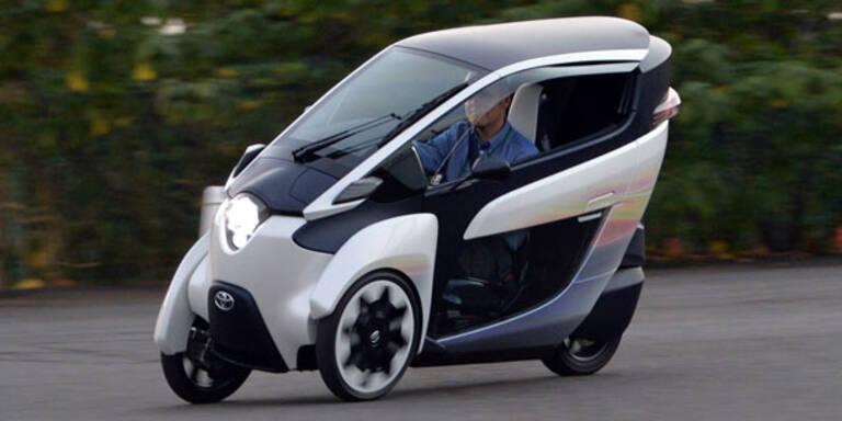 Toyota bringt E-Auto mit 3 Rädern auf Straße