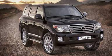 Facelift für den Toyota Land Cruiser V8