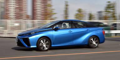 Brennstoffzellenauto von Toyota gestartet