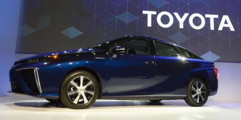 Toyota lässt Patente gratis nutzen!