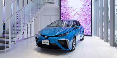 Toyota pusht sein Brennstoffzellen-Auto