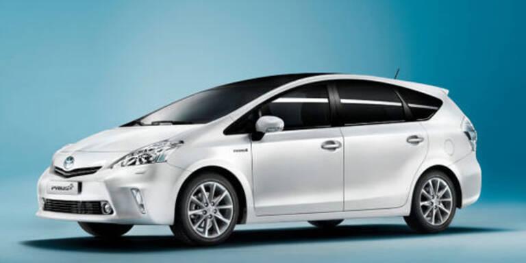 Prius+: Erster 7-Sitzer mit Voll-Hybrid