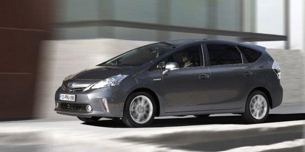 Österreich-Start für den Toyota Prius+
