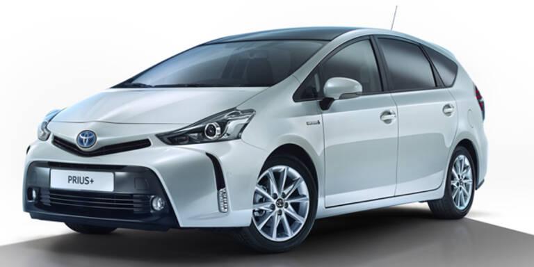 Facelift für den Toyota Prius+