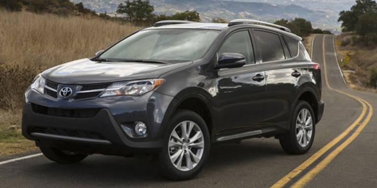 Toyota stellt den neuen RAV4 vor