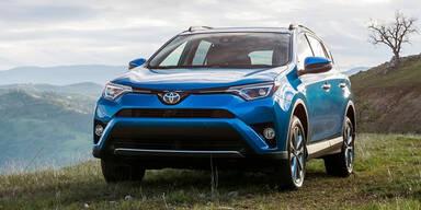 Toyota RAV4: Facelift und Hybridantrieb
