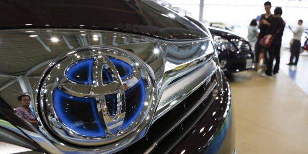 Toyota wieder weltgrößter Autohersteller