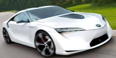 Toyota zeigt neuen Hybrid-Sportler