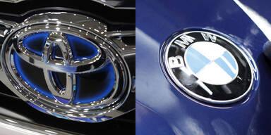 BMW und Toyota bauen Partnerschaft aus