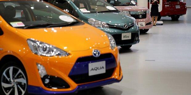 Toyota ruft rund 1 Million Autos zurück