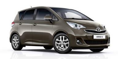 Facelift für den Toyota Verso S