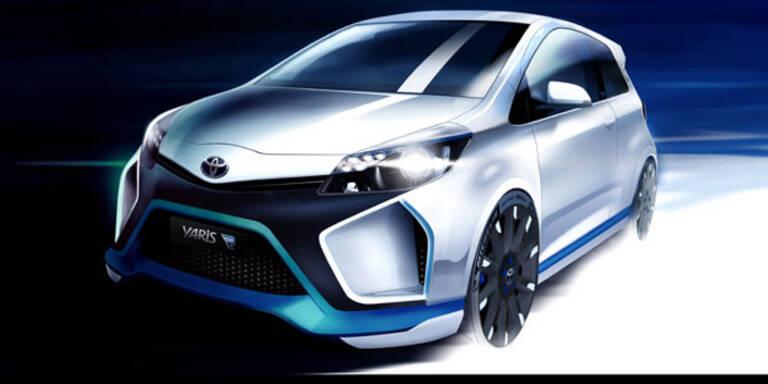 Toyota stellt den Yaris Hybrid-R vor