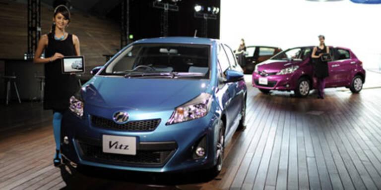 So sieht der neue Toyota Yaris aus