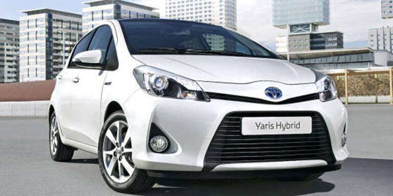 Jetzt bringt Toyota den Yaris Hybrid