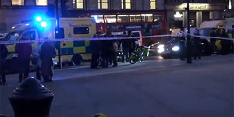 Massenschlägerei mitten in London