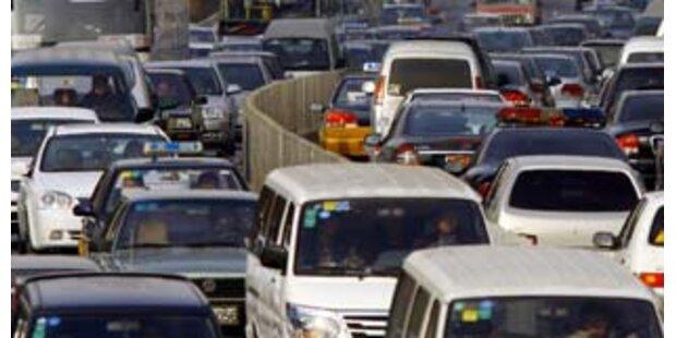 Massenkarambolagen mit 73 Autos wegen Glatteises