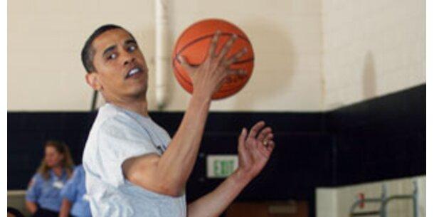 Das eiserne Fitness-Programm der Obamas