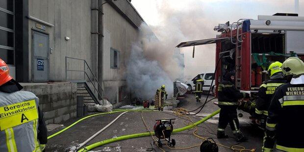 Brand in Caritas-Lager von Zigarette verursacht